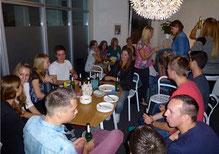 Erstsemesterparty ist eine schöne Tradition beim Studium am Bodensee Campus