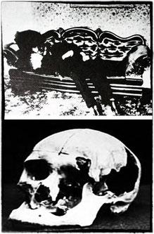 il cadavere del padre Andrew