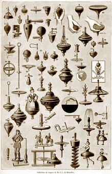 Kreisel-Geschichte. aus: La Nature 1896