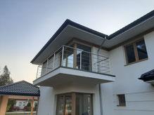 Balustrada nierdzewna balkonowa