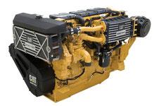 Marine engine CAT C18 Caterpillar - Lamy Power special deal - Türkiye'de deniz motoru