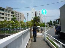 横浜市金沢区にて