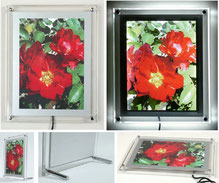 Crystal-Frame Leuchtbox LED