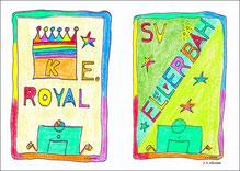 Zwei Meister: Royal und SV Ellerbäh