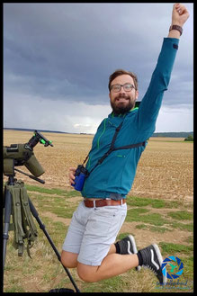 Happy while birding