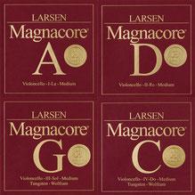 ларсен магнакор - струны для виолончели АРИОЗО МАГНАКОРЕ