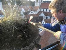 Foto: NABU Biberach -Martin Rösler in Aktion-
