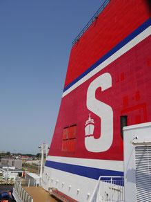 Schornstein der Stena Line