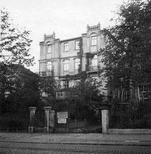 Das Haus der Mondscheins in der Wilhelmshöher Alle 40 - Hier steht heute ein Hotel