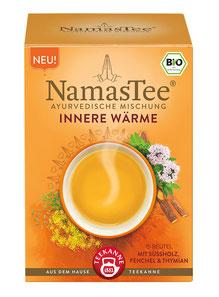 NamasTee Innere Wärme 4er Pack Kräutertee nach Ayurvedischer Mischung
