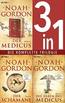 Die Medicus-Saga Band 1-3 Der Medicus / Der Schamane / Die Erben des Medicus Die komplette Trilogie als Kindle Ausgabe