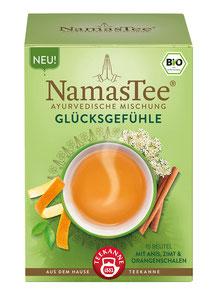 NamasTee Glücksgefühle 4er Pack Kräutertee nach Ayurvedischer Mischung