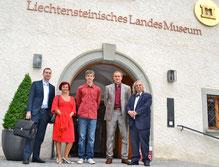 S desna na lijevo: Prof.Dr. Rainer Vollkommer, Boris Ljubičić s unukom Svenom, Rajka Poljak i Igor Surdich