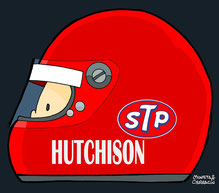 Helmet of Gus Hutchison by Muneta & Cerracín
