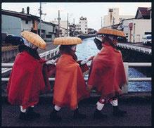 No.30708 瞽女のいる街 袖山 潤一郎(新潟市)