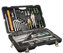 Werkzeugkoffer bestückt und schon mit Werkzeug gefüllt