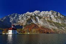 #herbst , #nationalpark , #königssee , #berchtesgaden , #kleine reiben, #gipfel , #bayern , #watzmann , #reisen , #st.bartholomä , #landschaft