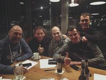 Bewes, Hans, Daniel, Andre`, Malte
