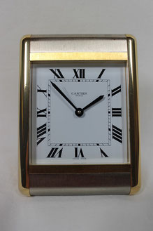 Cartier Tank Wecker