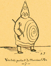 Alfred Jarry (1896).