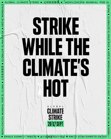 """Wir messen euch an euren Taten, nicht an euren Wahlversprechen!"" -  Mehr als 65 Organisationen unterstützen EARTH STRIKE am 27. September  Bild: FFF"