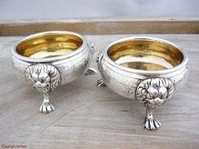 Antike Sterling Silber Saliere R. Hennell