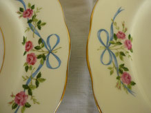 Vintage Teller aus feinem englischen Porzellan
