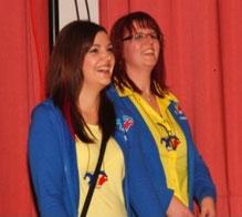 15 Jahre unser Trainerinnen-Dreamteam: Sabrina und Melanie