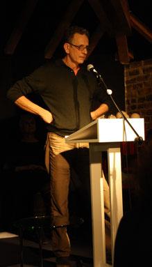 Eberhard Gast bei seinem Vortrag