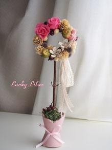 「Wreath Topiary 」