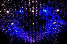 Beleuchtung in der Eingangshalle vom Hilton