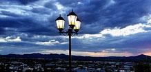 Blick vom Rest. Heinitzburg auf Windhoek