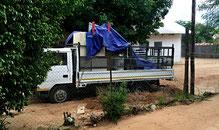 Das ist die afrikanische Art von Wegfahrsperre