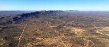 Kurz vor Windhoek präsentiert sich die Landschaft so herrlich