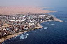 Luftaufnahme von Swakopmund