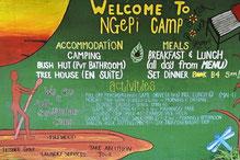 Das etwas andere Camp am Kavango