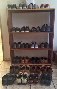 Meine Schuhe haben junge bekommen