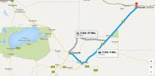Tsumeb, die Stadt auf dem Weg zum Etosha