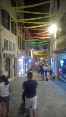 Festivität in Mahon (Menorca)