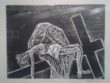 XIII Estación: Jesús en brazos de su Madre
