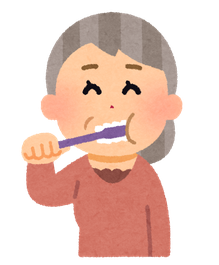 歯磨きで予防