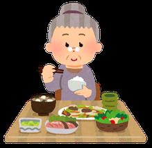 しっかり食べて栄養をつけ、バランスの良い食事を