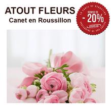 Atout fleurs Canet réduction Loisirs 66