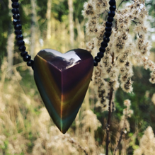 Regenbogenobsidian, Obsidian, Wirkung Obsidian