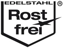 Qualitätssiegel Edelstahl Rostfrei