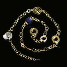 Goldkette, Armkette, Schmuckdesign