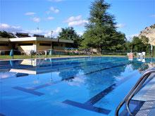 Foto de la piscinas grande de Sobrón