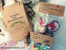 debuenamaniana, Kit para padres primerizos, especial nacimientos, baby shower, regalos personalizados, sorprende de buena mañana