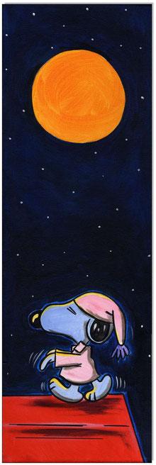 Sleepwalking Snoopy