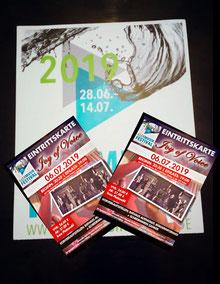 Eintrittskarten für Illermusikfestival